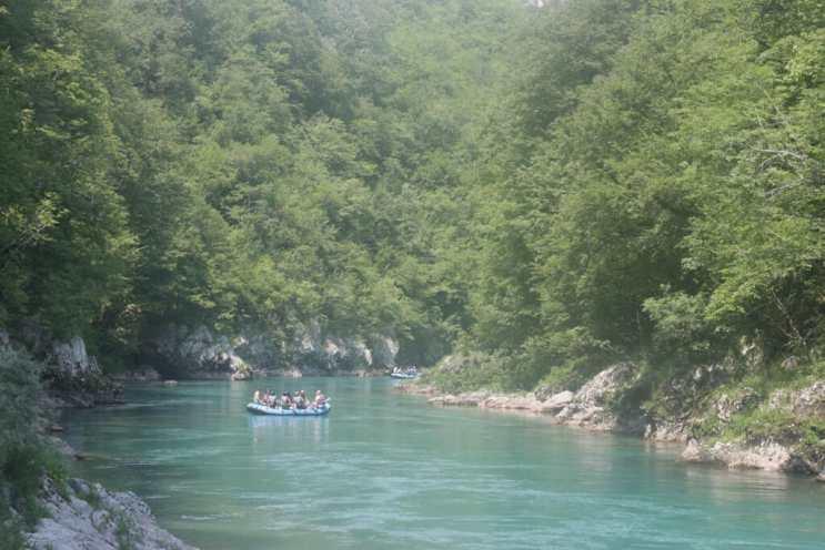 Rafting sur la Tara River