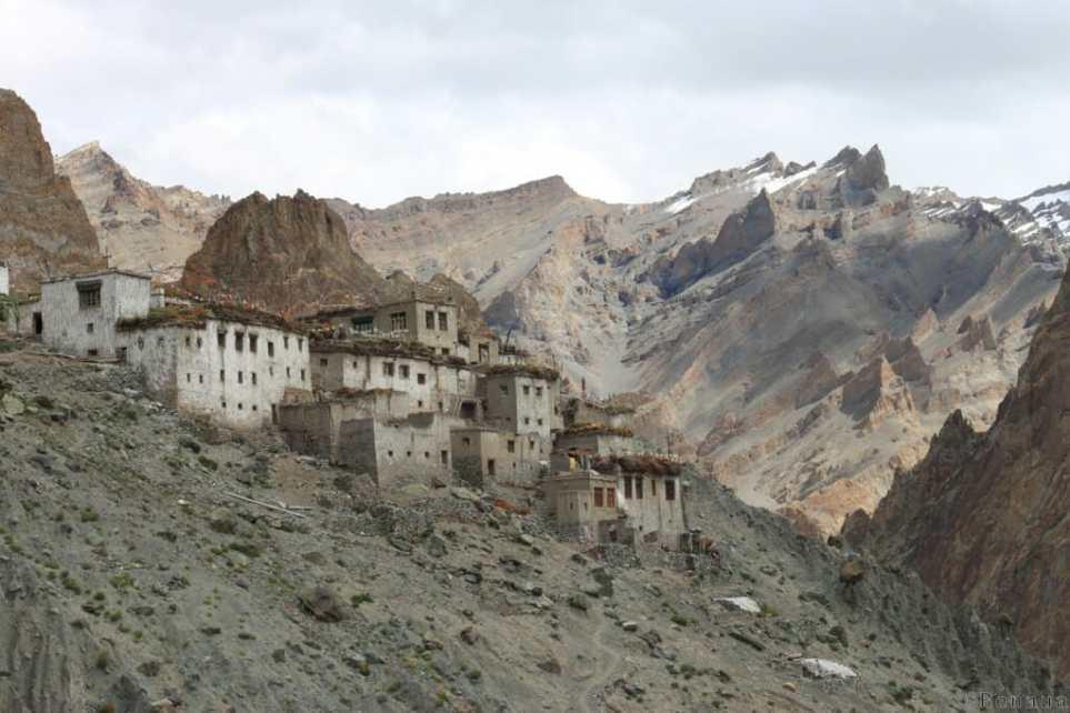 Villages et population Zanskari en Himalaya