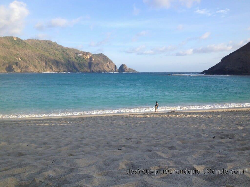 5 plages de Lombok à ne pas manquer - Plage de rêve de Mawun