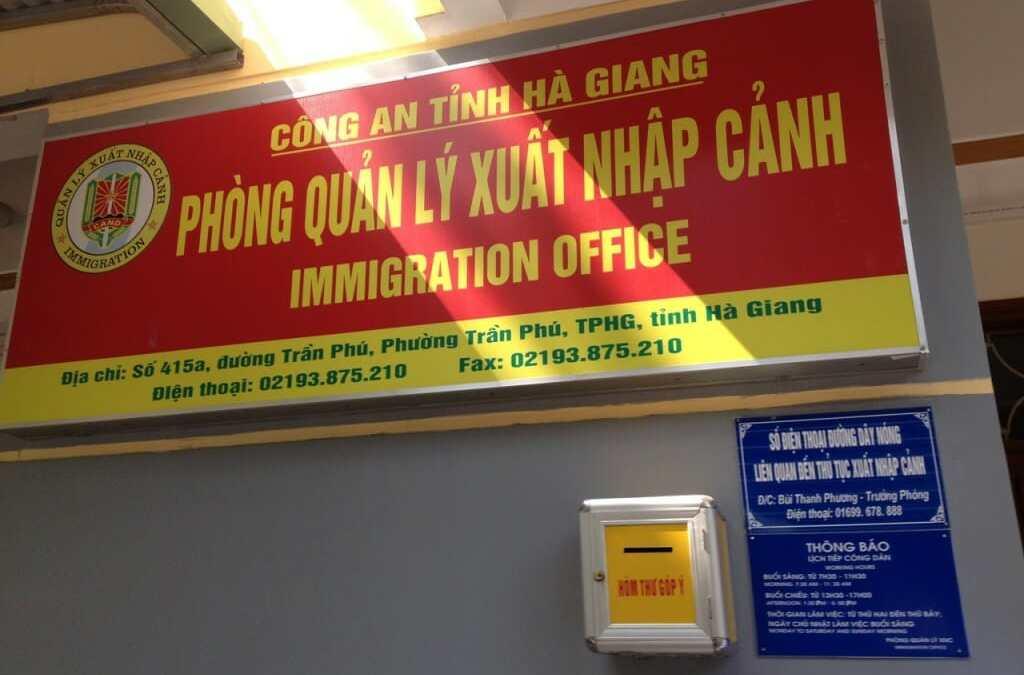 Permis pour la région de Meo Vac et Dong Van au Vietnam