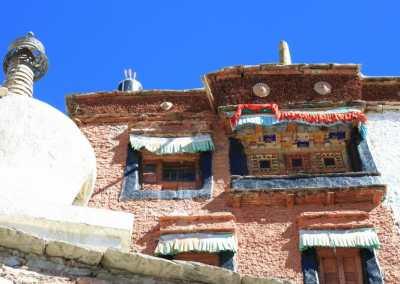 Monastères bouddhistes au Zanskar en Himalaya - Au Monastère de Darsha