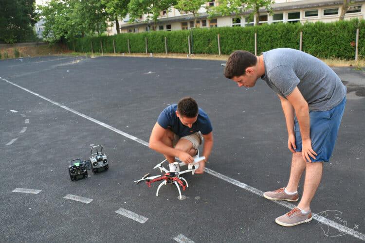 Législation drone en France - Pratique avec Aerotech Vision