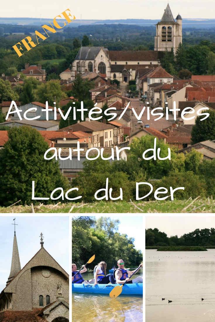 Quelles sont les activités et les visites à faire autour du Lac du Der en Champagne ? Mon expérience, mes coups de cœur et toutes les infos pratiques. #lacduder #champagne