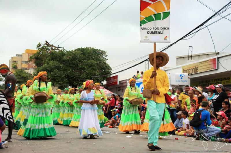 Grupo folklorico - Carnaval Barranquilla