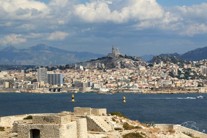 Îles du Frioul - Marseille du Fort de Ratonneau