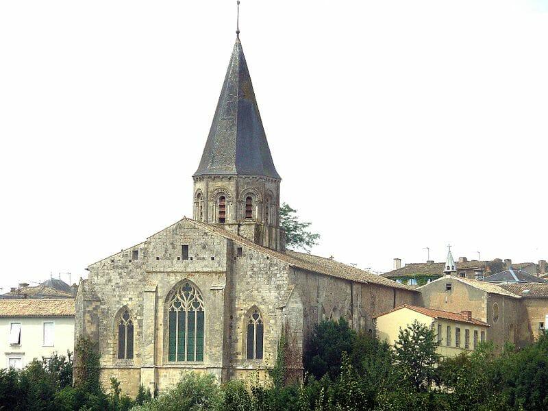 Randonner en Deux Sèvres - Champdeniers-Saint-Denis - Eglise Notre-Dame