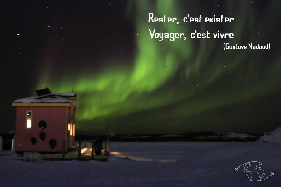 Blog voyage, Nature et culture, activités outdoor - Citation Voyage