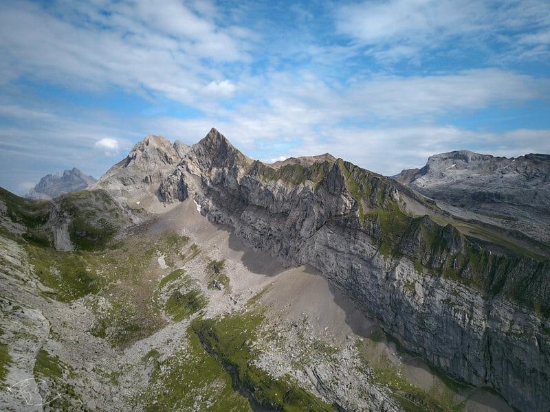 Tour des Dents Blanches - Col du Bostan