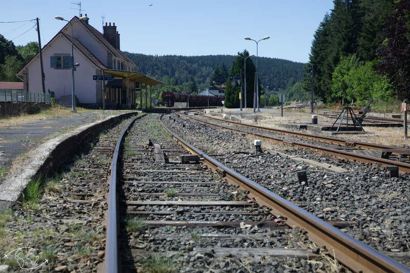 Chemin de Stevenson - Gare la Bastide Puylaurent