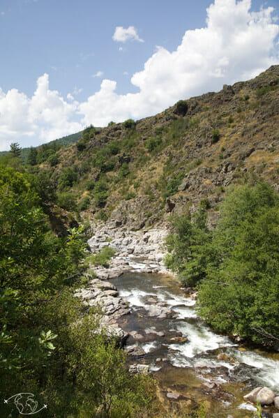 Chemin de Stevenson - Gorges avant Bedouès