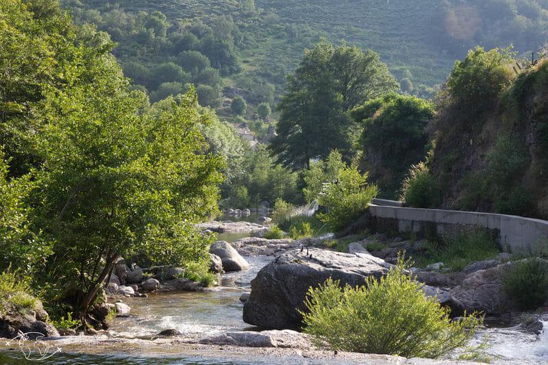 Chemin de Stevenson - Vue des cascades de Pont de Montvert