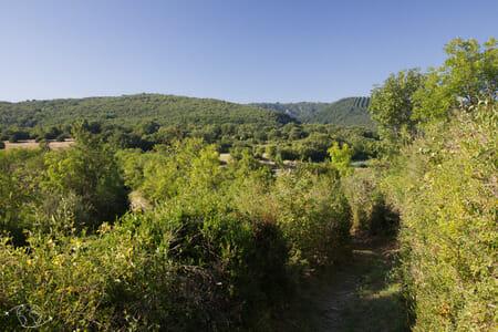Randonnée Larzac - Buissière entre Cornus et la Couvertoirade