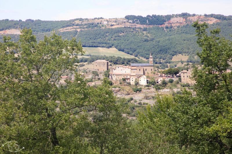 Randonnée Larzac - La Bastide-Pradines