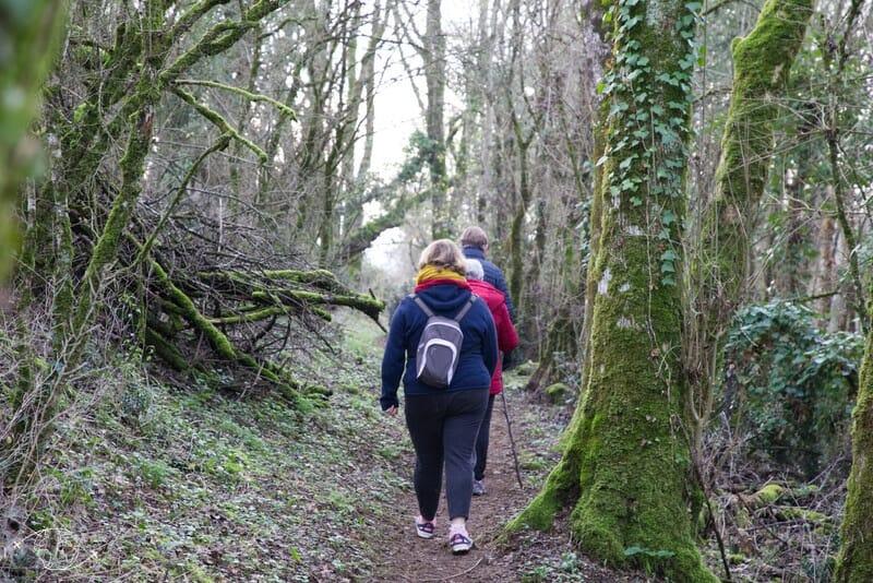 Puit d'Enfer à St Maixent et randonnée
