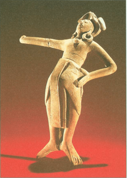 Sulpture from Island Jaina (Pre-Columbian America)