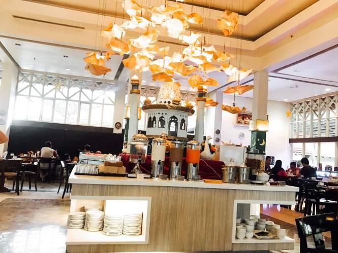 Menu Sarapan di Sheraton Hotel Bandar Lampung