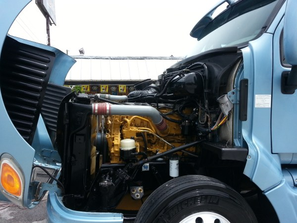 Peterbilt Truck Engine Detailing