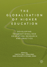 Book cover: 'The Globalisation of Higher Education'