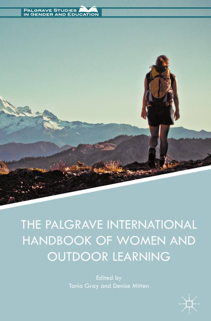 Book cover: The Palgrave International Handbook of Women and Outdoor Learning'