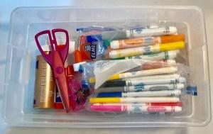 Organize Kids' Craft Supplies