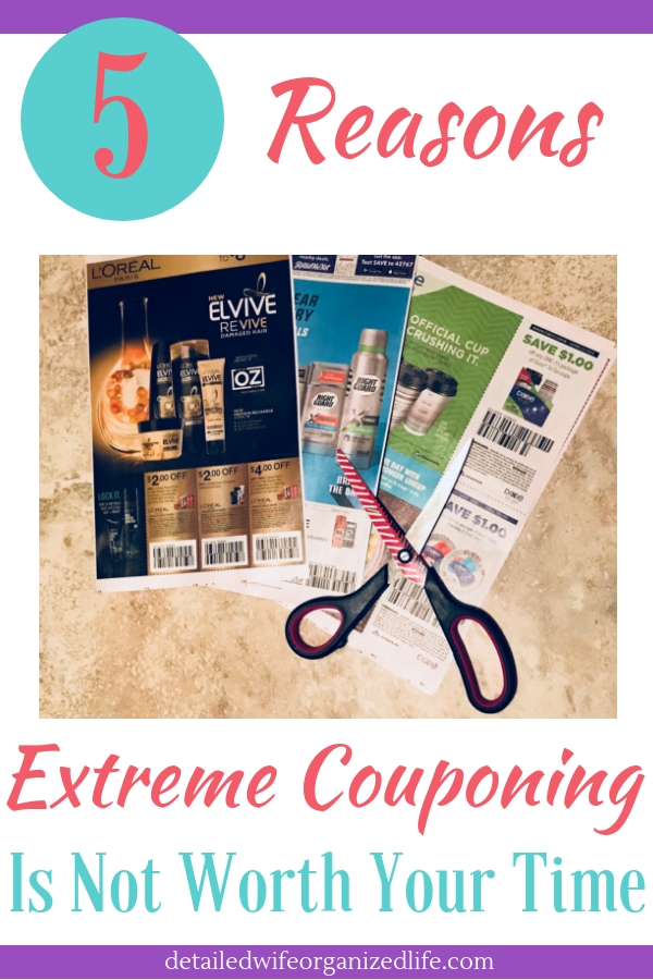 5 Reasons Extreme Couponing Isn't Worth Your Time