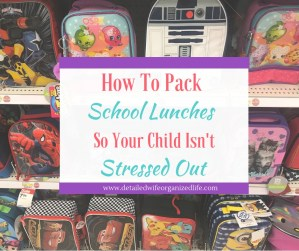 How to Pack School Lunches