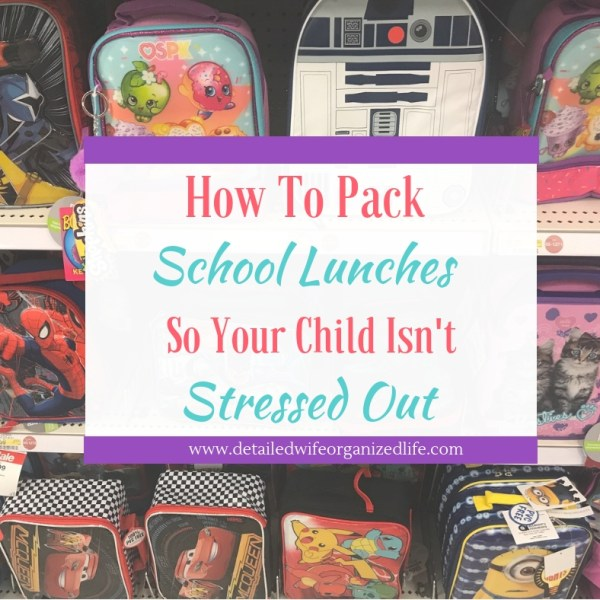 5 Tips for Successfully Packing School Lunch