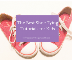 The Best Shoe Tying Tutorials for Kids