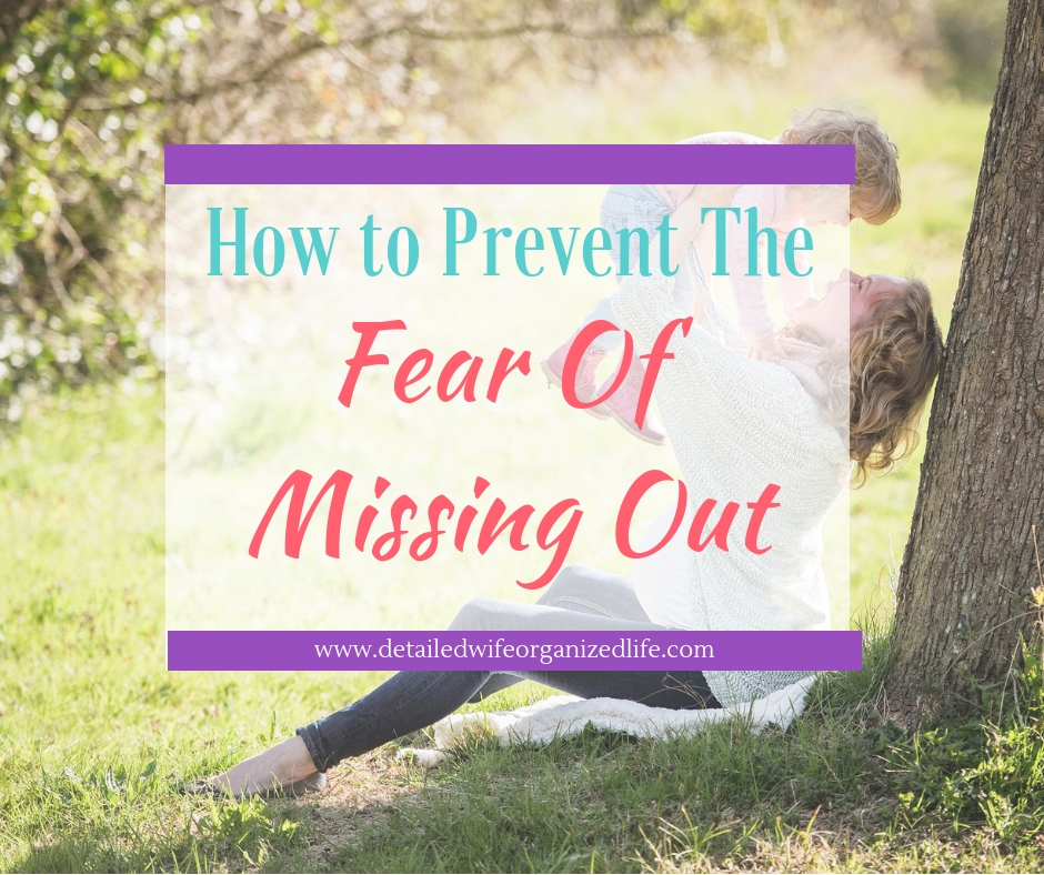 How to Prevent the Fear of Missing Out