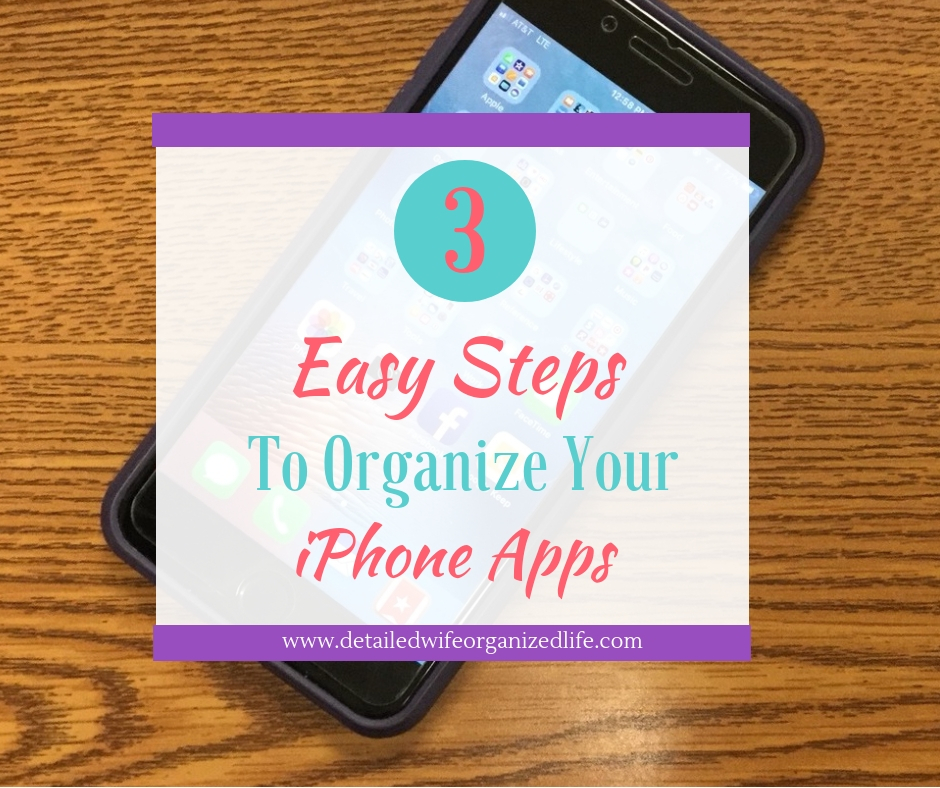 3 Easy Steps To Organize Your iPhone Apps