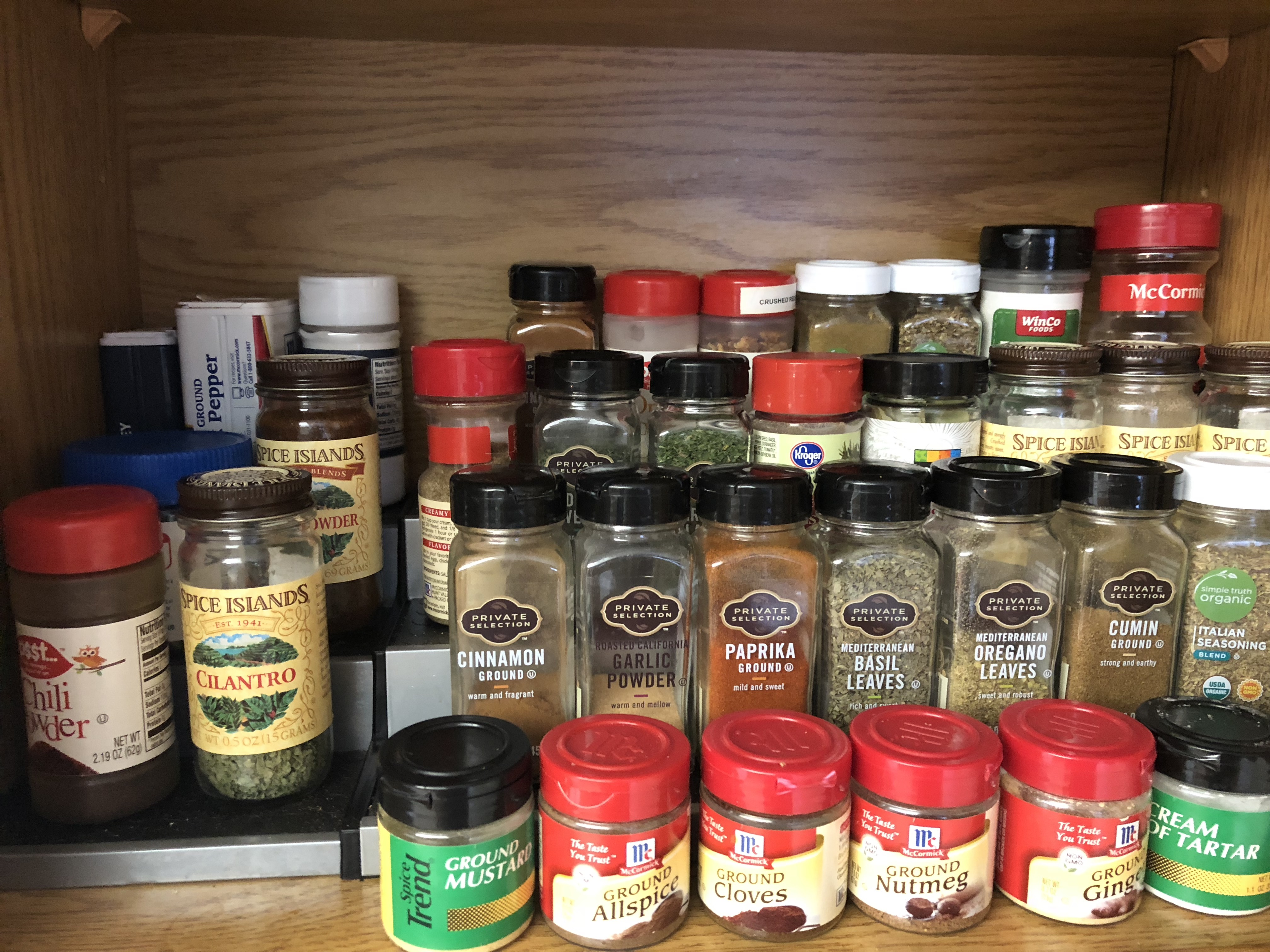 Tiered Spice Rack