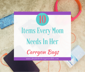 10 Items Every Mom Needs In Her Carryon Bags