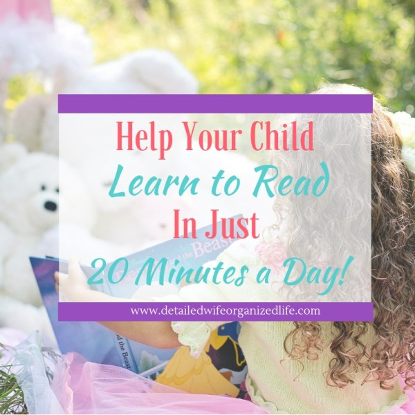 How To Help Your Child Learn To Read