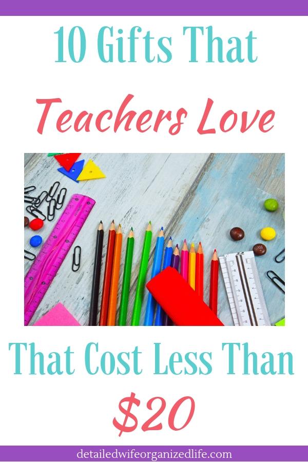 10 Gifts That Teachers Love