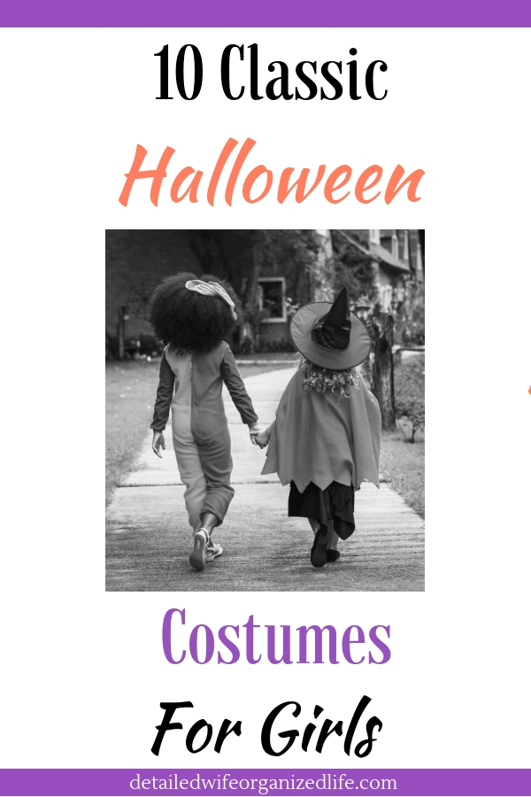 10 Classic Halloween Costumes for Girls