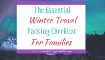 the essential summer vacation family packing checklist detailed