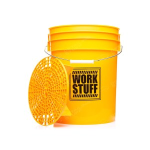 WORK STUFF Detailing Bucket Yellow Wash + Separator - wiadro do mycia