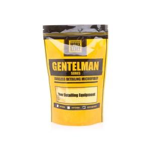 WORK STUFF Gentleman Basic Yellow - delikatna mikrofibra bez obszycia