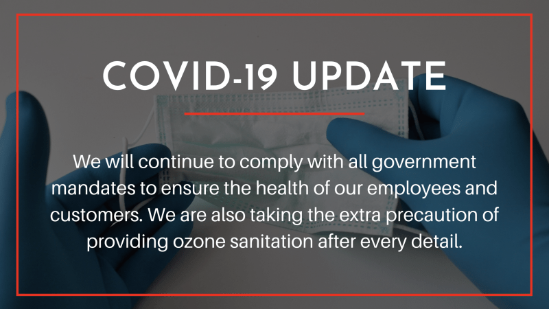 COVID update: we are staying safe with ozone treatments