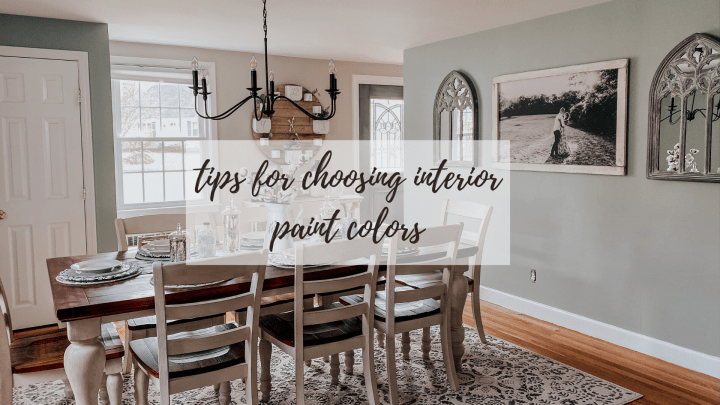 Choosing The Perfect Paint Colors!