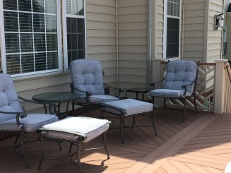Mary's before cushions