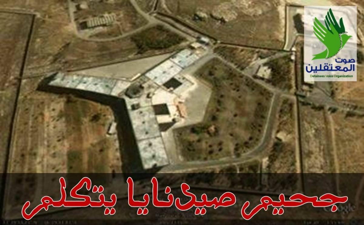 """من داخل سجن صيدنايا: """"أنقذونا، افضحوهم، رح نموت كلياتنا!"""""""