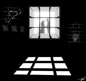 شوق المعتقلين للأهل والأحباب
