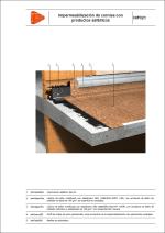 Sistemas de impermeabilización. Impermeabilización de cornisa con productos asfálticos