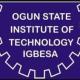 Ogun State Institute of Technology (OGITECH) Resumption Date 2020/2021