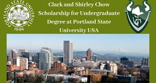 CLARK AND SHIRLEY CHOW SCHOLARSHIP