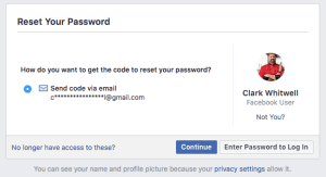 Locked out of your Facebook account?
