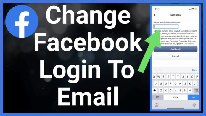 How To Change Phone Number To Email On Facebook App