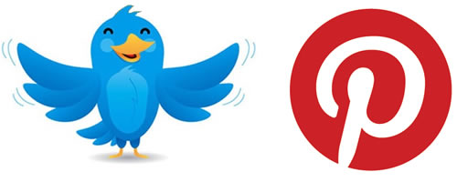 twitter pinterest Increase The Number of Followers on Pinterest