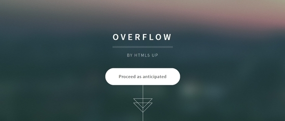 Overflow - website templates